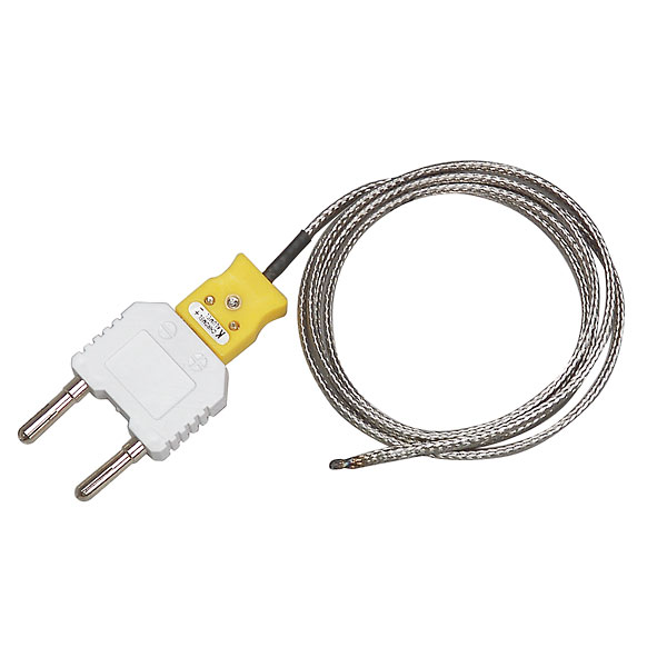 Type K Thermocouple Wire | Extech Bead Wire Type K Thermocouple Temperature Probe From Davis