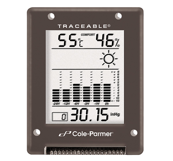 Cole Parmer Digital Barometer 794 to 1050 mbar RS 232 ...