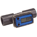 GREAT PLAINS INDUSTRIES INC -  - Flowmeter Totalizer 10 to 100 GPM 1 1 2 NPT F process connection