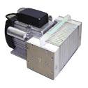 KNF NEUBERGER INC -  - KNF Explosion Proof Motor Vacuum Pump PTFE FFKM 2 1 cfm 29 86 Hg 15psi