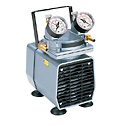 GAST MANUFACTURING CORP -  - Gast High Capacity Vacuum Pump Gauge Reg 1 1 cfm 25 5 Hg 115V