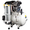 DO-07067-65 Ultra-Quiet Oilless Air Compressor, 6.8 cfm, 220 VAC