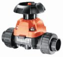 Representative photo only George Fischer Type 314 PVC Manual Diaphragm Valve 1