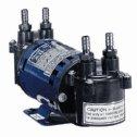 Air Cadet Vacuum Pressure Pump Diaphragm dual head 0 91 cfm 230 VAC - 07532-65