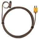 Digi Sense Type K Hose Clamp Probe 0 44 1 00 OD Mini Conn GRD 10Ft SS Braid Cable (Representative photo only)