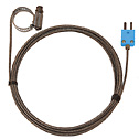 Digi Sense Type T Hose Clamp Probe 1 25 2 25 OD Mini Connector Grounded 10Ft SS Braided Cable (Representative photo only)