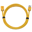Digi Sense Type K Extension Cable Mini Connector 10Ft 20 Gauge (Representative photo only)