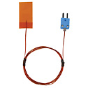 Digi Sense Type T Self Adhes Tape Probe 1Inx2In Mini Connector 5Ft FEP Ins Wire Pack of 3  (Representative photo only)