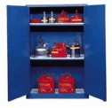 Representative photo only Eagle Acid Storage Cabinet Manual Latching Door 45 Gallon