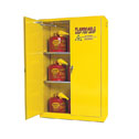 Representative photo only Flammable Storage Cabinet Self Closing Doors 45 Gallon