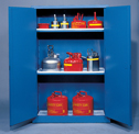 Representative photo only Eagle Acid Storage Cabinet Self Closing Door 60 Gallon