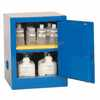 DO-09419-03 Benchtop Acid Storage Cabinet, Manual-Latching Door, 4 Gallon