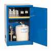 DO-09419-05 Space Saver Acid Storage Cabinet, Manual-Latching Door, 12 Gallon