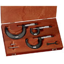DO-09925-12 Outside Micrometer Set 0-3&quot;