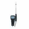DO-10508-73 AVM410 : Air Velocity Meter, Temp Includes: Instrument, hard carrying case, 4 alkaline batteries, operation and service manual, and NIST calibration certificate
