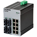 - Red Lion N Tron 112FX4 SC Unmanaged Industrial Ethernet Switch 12 Port SC