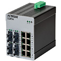 - Red Lion N Tron 112FX4 ST Unmanaged Industrial Ethernet Switch 12 Port ST