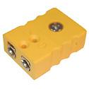 Digi Sense Thermocouple Connector Standard Type K Female Jack 5 Pk - 18527-08