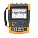 Representative photo only Fluke 190 202 S Oscilloscope Handheld 2 Channel 200 MHz color w SCC290 Kit