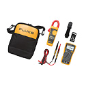 Fluke-117/323 KIT - Fluke 117 323 Electrician s Multimeter Clamp Meter Combo Kit
