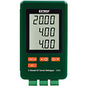 SD900 - Extech SD900 Three Channel DC Current Data Logger