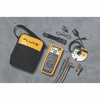 DO-26048-97 Kit, including Fluke 289 DMM, FlukeView Forms software, 80BK-A thermocouple, TL71 Test Lead Set, AC72 Alligator Clips, TPAK Magnetic Hanger and Soft Case