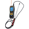 Data Logging Hot-Wire Anemometer with IR Thermometer