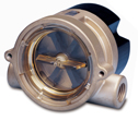 DO-32779-04 Flow Indicator for Liquids; Brass, 1/4 in.