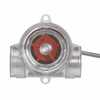 Representative photo only Sight Flow Indicator 2 To 20 GPM 1 To 10 VDC Output Polycarbonate Body With 1 2 NPT F Connections