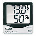 DO-37802-10 Extech 445703 Big Digit Hygro-Thermometer