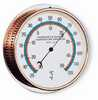 Temperature Dial Indicator with White Face and Brass Case (Representative photo only)