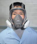 Representative photo only 3M 6000 series Full face respirators Large