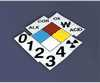 ACCUFORM SIGNS - ZFD606XT - NFPA Placard Sign Kit 6 X 6 plastic