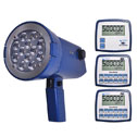 Representative photo only Monarch Instruments Nova Strobe DBL LED Stroboscope internal NiMH rechargeable batteries and 115 230 VAC recharger