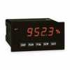Representative photo only Red Lion PAXD0010 DC Volt Current Panel Meter Green 85 250VAC
