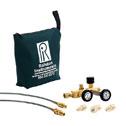 RALSTON INSTRUMENTS - QTCM-2MBA-20-2 - Ralston QTCM 2MBA 20 2 Nitrogen Calibration Manifold 1 4 NPTM Brass