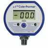 Cole Parmer Battery powered Digital Gauge 0 to 30 Hg 1 4 NPT M  - 68935-02