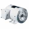 Representative photo only Washdown Duty NEMA Type C face Rigid Base Three phase Motor 1 2 Hp 1800 RPM