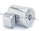 Stainless Steel NEMA Type C face Rigid Base Three phase Motor 1 Hp 3600 RPM (Representative photo only)