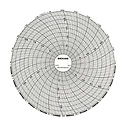DICKSON COMPANY - C660 - Chart Paper for 6 Circular Recorder 24 hour 0 to 250F C