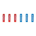 DO-80009-60 Dickson P246 Replacement Chart Recorder Pens 3 Red and 3 Blue