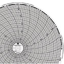 GRAPHIC CONTROLS CORP - 31270492 - Chart Paper for 8 Circular Recorders 24 hour 0 to 2000F 60 pk