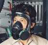 Representative photo only North Full Face Respirator Thermoplastic elastomer