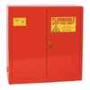 DO-81771-08 Eagle Paint and Ink Safety Cabinet, Self-Closing Doors, 40 gallon
