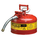 DO-81791-45 Justrite<small><sup>®</sup></small> Safety Can for Flammables, Type II, 2.5 gallon
