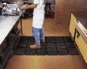 472 35013 - Wearwell Modular Worksafe Antifatigue Mats Grease proof Mat 3 x3