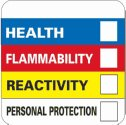 "DO-86396-00 Hazardous Material Identification Label, 2"" X 2"""