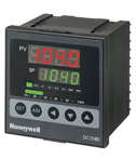HONEYWELL INC - DC1040CT-102-00B-E - Temperature Controller TC 1 4 DIN Relay Output 2 alarms RS485