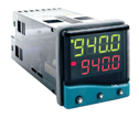 CAL CONTROLS INC - 941100000 - 1 16 DIN Temp controller with dual line display relay relay 100 240 VAC