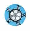 Irreversible 5 Point Round Temperature Label 450 500F 232 260C 25 Pk (Representative photo only)